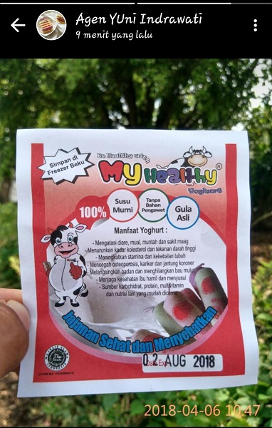 Nikmati Beragam Keuntungan Dan Manfaat Dari Yoghurt My Healthy My Healthy Yoghurt